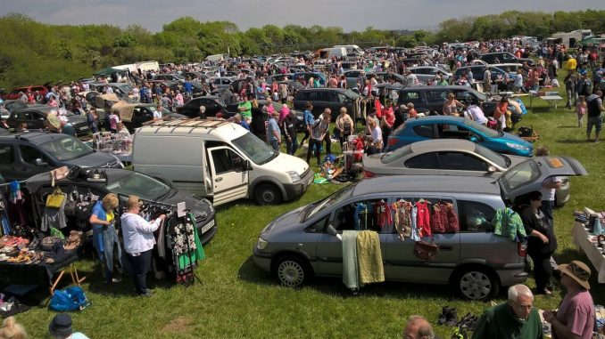 Porthkerry Car Boot Sale. Image from WalesOnline.co.uk