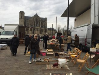 La Mans market - March 2017 Classic Brocante Mid West France Trip
