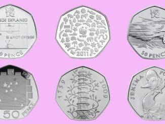 Rare 50p coins header. Image by Royal Mint.