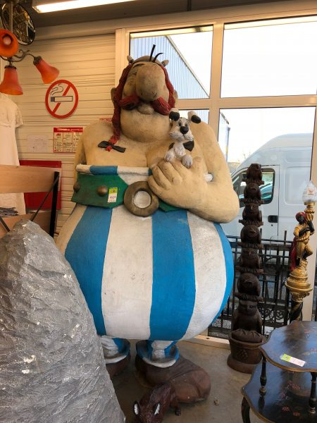 Giant 12-foot Obelix from Asterix Cartoon