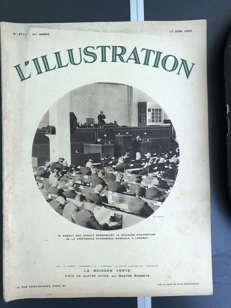 L'illustration Magazine 1933 Ramsay Macdonald